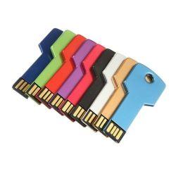 판촉 선물용 메탈 키 모양의 휴대용 USB 플래시 드라이브