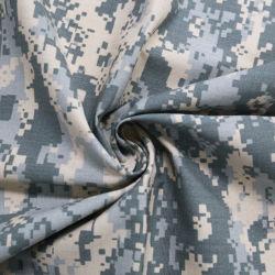 100% بوليستر مضاد للأشعة تحت الحمراء PVC/PU منسوجة تمويه عسكري مطبوع رقميّا قماش التوسوف لطبقة طلاء السترة لأسفل