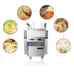 معدات الطهي جهاز الطهو الكهربائي جهاز الطهو الكهربائي جهاز الطهو بالبخار غليان الطعام منضدة الحلي الغاز آلة تحضير المعكرونة مع 6 سلال