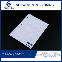 Filtro chimico elastico personalizzato 100% poliestere o viscosa PES/PA Spunlace Tessuto non tessuto interfodera per indumenti/Imballaggi/tessuti per la casa