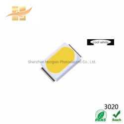 20 mA 120º ángulo de visión 3020 blanco frío chip SMD LED para iluminación Decoración