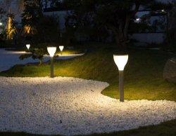 庭のステンレス鋼の太陽動力を与えられた製品LED太陽ライト
