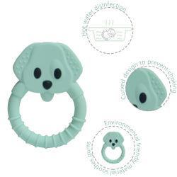 Neue Entwurfs-Baby-Sache-Spielwaren, Säuglingstiersilikon Teether