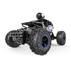 2,4Ghz 1/16 4WD Controle Remoto Carro com Fpv câmara HD & Controlo duplo modo RC Velocidade do veículo para as crianças, Adult-Black