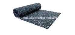 Venda por grosso de 3 mm em 5 mm a absorção sonora de acessórios carpete acústico de Borracha