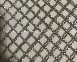 Groothandel gegalvaniseerd vierkant geweven draadgaas / roestvrij staal gekrimpt Draadgaas