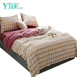 Accueil de la literie en tissu de coton drap de lit nouveau produit prix bon marché à 4 ordinateurs lit Queen Size