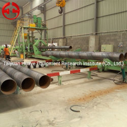 ماكينة صناعة الأنابيب الفولاذية الحلزونية، سعر خط إنتاج اللحام باستخدام أنبوب النفط/الغاز