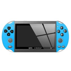 """LCD X7 a doppio bilanciere da 4.3"""" a 32/64/128 bit, retrò portatile da 8 g. Giocatore di gioco"""