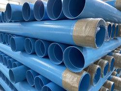 Tubo dell'intelaiatura del PVC scanalato taglio del commestibile di buona qualità per Borewell