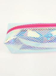 中国の最もよいカスタム透過丈夫な耐久の大きい容量の普及したナイロン網の鉛筆の袋袋