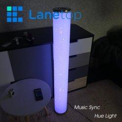 Étage permanent de la synchronisation de musique de la teinte de lumière à LED
