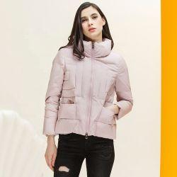 Anel de suporte de peles de raposa de inverno quente casaco curto mulheres de camadas de Inverno