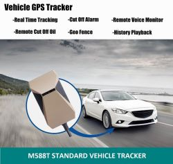 Voiture GPS tracker suivi GPS du véhicule coupé Sos carburant Contrôle vocal Dispositif de repérage de voiture GPS en temps réel