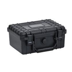 """9.12 """" Waterproof&Shockproof harter Plastikgeräten-Hilfsmittel-Kasten-Gewehr-Kasten-kundenspezifischer Schaumgummi"""
