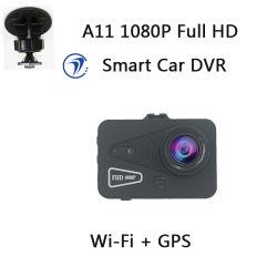 우수한 차 정면 사진기 가득 차있는 HD 1080P Novatek 96672 대시 캠, 소니 2053년 차 사진기 WiFi GPS 차 DVR