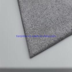 100% coton tissu teint de triage un seul côté d'armure sergé brossé pour pour chemises de flanelle