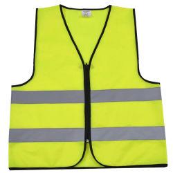 불용 형광등 노란색/주황색 안전 경고 작업복 반사형 의류