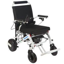 알루미늄 신체 장애자는 접히는 가벼운 전력 휠체어 여행한다
