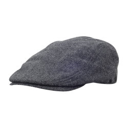 Fashion Ladies Custom checked IVY Hat Cowboy Cap Newsboy Cap