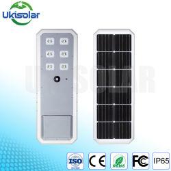 Лучше всего Ukisolar все в одном из солнечного освещения улиц 40W 60W 80W 90W 100 Вт с КРИ LED Chip и LiFePO4 аккумуляторная батарея