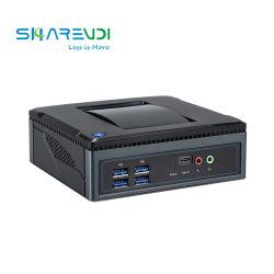 كمبيوتر مكتبي صغير NUC كمبيوتر محمول من نوع Thin Client مدمج مع معالج Intel Core i3 5005u AMD 8500b M. 2 WiFi من النوع C 2*HDMI