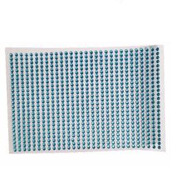بلورات الديكور ملصق لورق راينستون ملصقات الأوراق اللاصقة ذاتية مسطحة ملصق أكريليك فينيل
