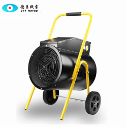 Termostato ajustável Portable Eléctricos Industriais de Aquecimento da Ventoinha