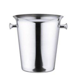 Classic em aço inoxidável balde de gelo para presente de promoção