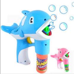 電気石鹸水ライトが付いている吹くメーカー自動機械おもちゃのカメラの泡