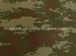 Tissu polyester enduit de PU de camouflage pour la Turquie