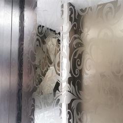 Interior design moderne de 304 316 taille 4x8 feuille décorative en acier inoxydable de l'élévateur