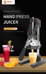 Новые машины соковыжималка для апельсинов розовый/серебристый и синий/Gold ручной фруктов соковыжималка сожмите