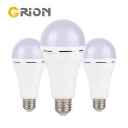 Lâmpada de luz de LED Orion a intensidade de luz de LED de luz da lâmpada LED E27 7W 9W 15W lâmpada LED de emergência recarregável