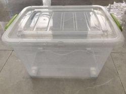 뚜껑 도매 의류 상자 저장 상자 아기와 가진 Ecofriendly 투명한 상자는 플라스틱 용기를