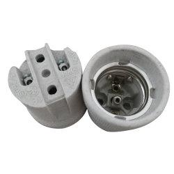 E27 F519 Porcelana E27 Suporte da lâmpada, de cerâmica do soquete da lâmpada E27