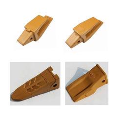 Piezas de maquinaria de construcción de la cuchara de retroexcavadora Gato dientes, dientes de la tierra