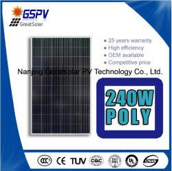 240W Painel Solar Poly Direct com alta qualidade