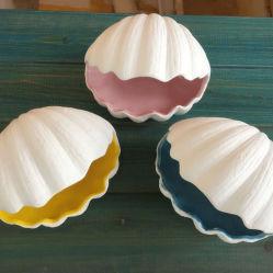 Vintage Concha de cerámica de Cenicero Cenicero Quemador de incienso