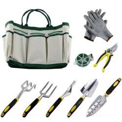 Jeu d'outils de jardin de 9 PC, pratique alliage en aluminium