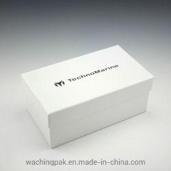Dom de telefone personalizado Caixa de Embalagem de Papelão Caixa de papel fosco branco com almofada interior em espuma para Celular Mobile
