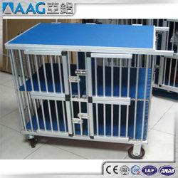 Us standard en aluminium Cage chien/chat de cage