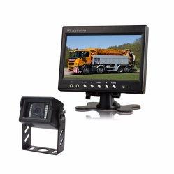 Sistema de retrovisor para Van Frota Visão de Mineração de equipamentos pesados em solução com 7 polegadas Monitor Espelho+IP69K Câmara