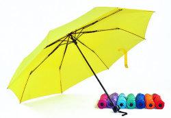 Высокое качество оптовая торговля рекламные дешевые Логотип печать 3 зонтик фальцовки