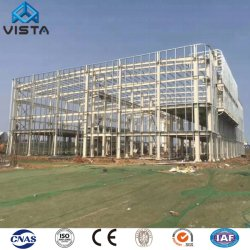 Низкая стоимость доступных отрасли промышленности коммерческих модульный практикум складских помещений офисного здания стальной каркас структур