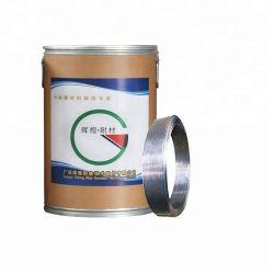 Hardfacing alambre con núcleo fundente para soldadura de rodillo de molienda de cemento