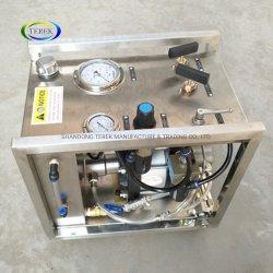 Las pruebas de alta presión Terek hidrostática de la bomba de presión de agua Bomba de prueba