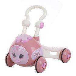 Música de moda bebê Walker Carrinho de bebê com luz