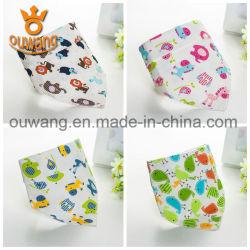 Promoção de venda quente Soft Kids Bebê Bib Design simples de algodão populares Bandana Baba Bibs