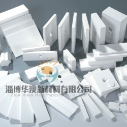Hoge Alumina Schurende Ceramische die Voering door Ceramisch Alumina van 92% & van 95% wordt gemaakt